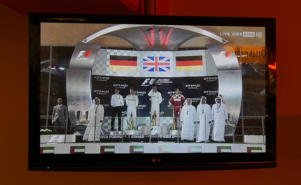 Formel 1 Siegerehrung